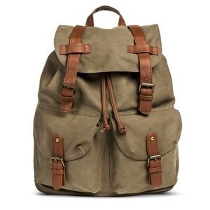 Mossimo Supply Co Canvas Backpack